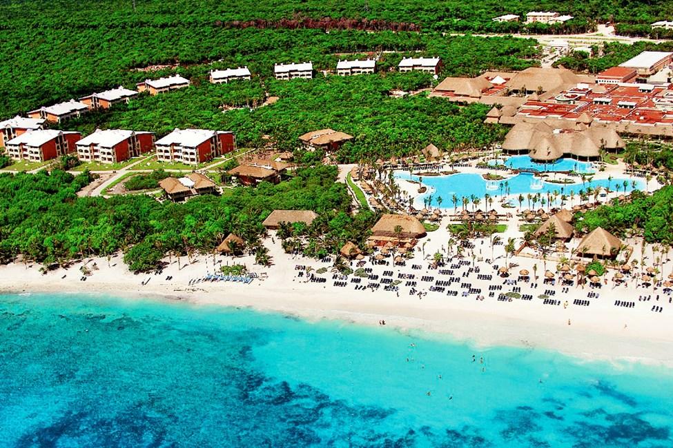 Oversiktsbilde av Grand Palladium Colonial White Sand Resort & Spa