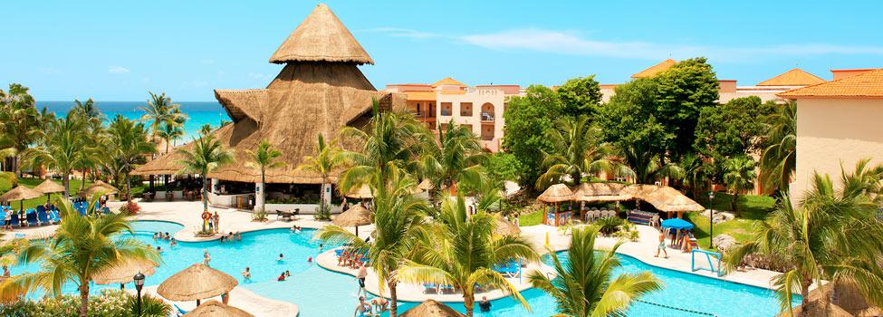 Sandos Playacar Beach Resort - Select Club, Playa del Carmen, Mexico, Karibia