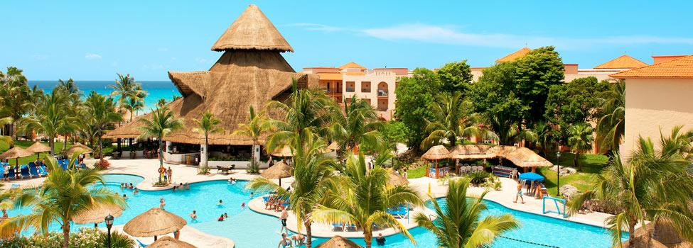 Sandos Playacar Beach Resort, Playa del Carmen, Mexico, Karibia