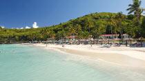 All Inclusive på hotell Starfish Halcyon Cove Resort Antigua.