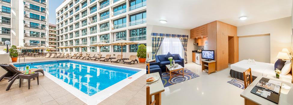 Golden Sands Hotel Apartments, Bur Dubai, Dubai, De forente arabiske emirater