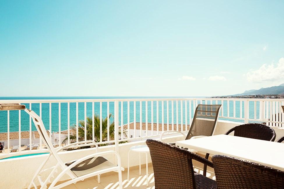 1-romsleilighet Royal Family Suite med balkong med havutsikt, Apollon