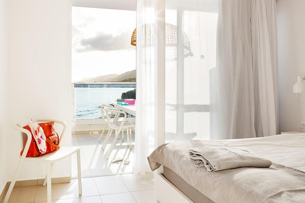 3-romsleilighet Royal Family Suite for 5 personer, stor balkong med havutsikt, Afrodite