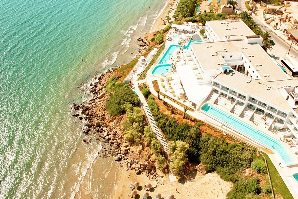 Ocean Beach Club har fantastisk beliggenhet.