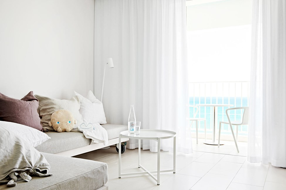 Club Suite, vårt mest populære boalternativ, med plass til opptil 6 personer.