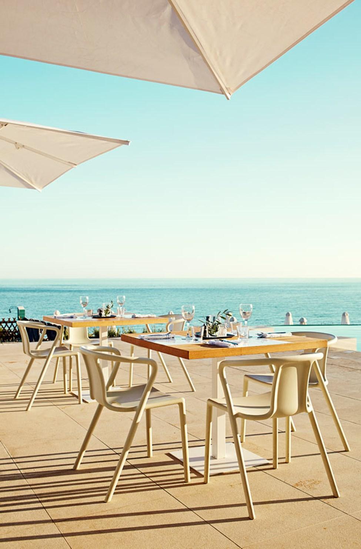 Uteserveringen på Ocean Beach Restaurant