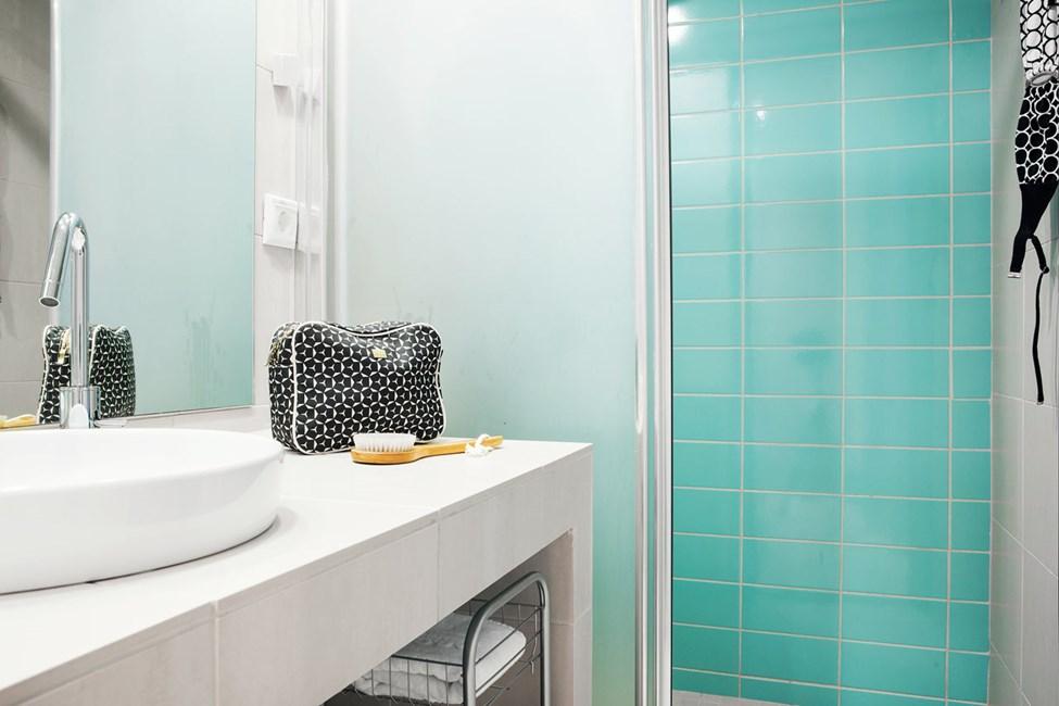 2-roms Club House Suite, stor terrasse med havutsikt og egen solterrasse