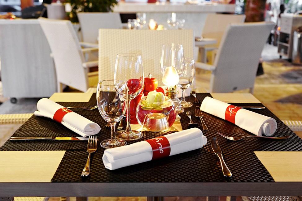 Den elegante og moderne restauranten Fino Restaurant & Grill