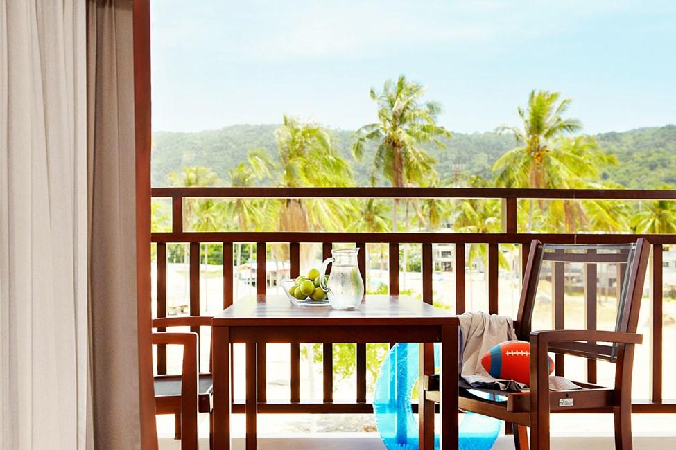 1-romssuite Family Suite med balkong mot omgivelsene