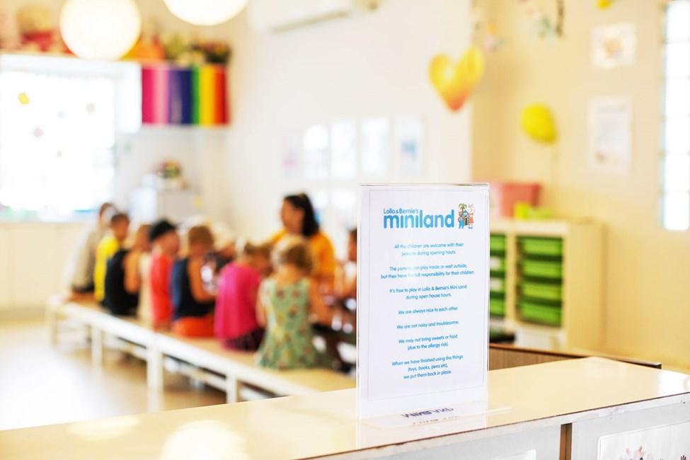 I Lollo & Bernies Mini Land kan barna leke, tegne og kose seg