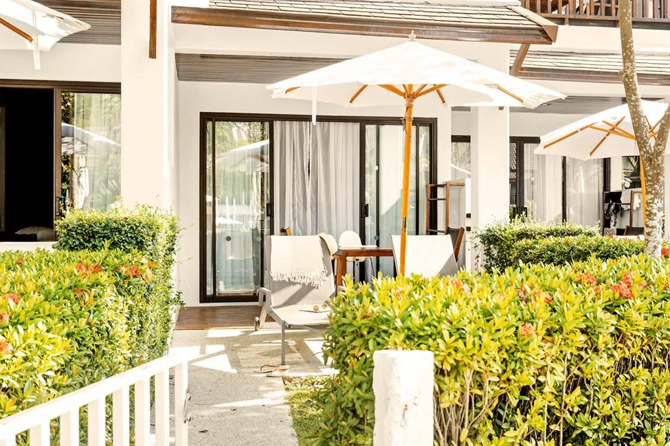 1-romssuite Happy Baby Suite med terrasse mot bassengområdet