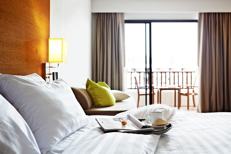 Samtlige Classic Suites har balkong eller terrasse.