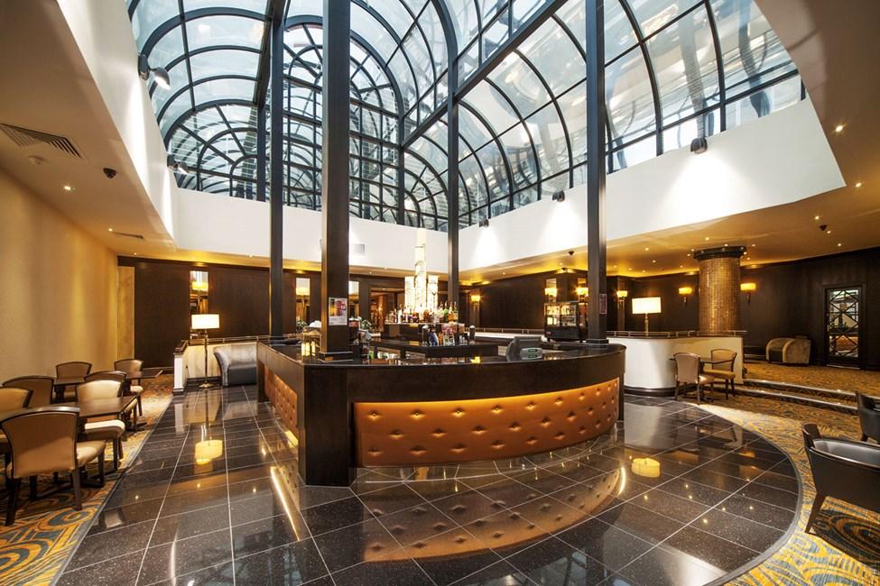 Hotellbar som deles med søsterhotellet President og Imperial.
