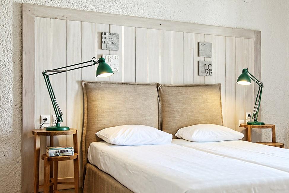 Dublettrom suite med havutsikt