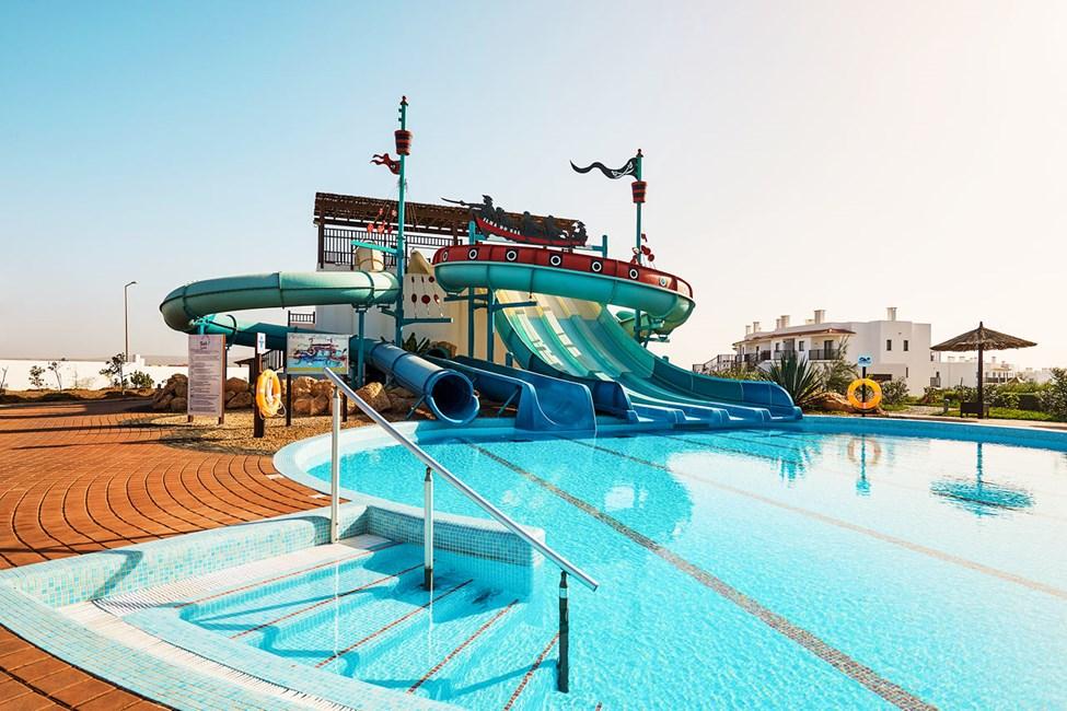 Badelandet på søsterhotellet Sol Dunas Resort