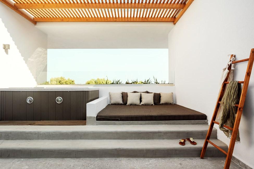 Classic Room 1 rom, balkong med boblebad, mot havet