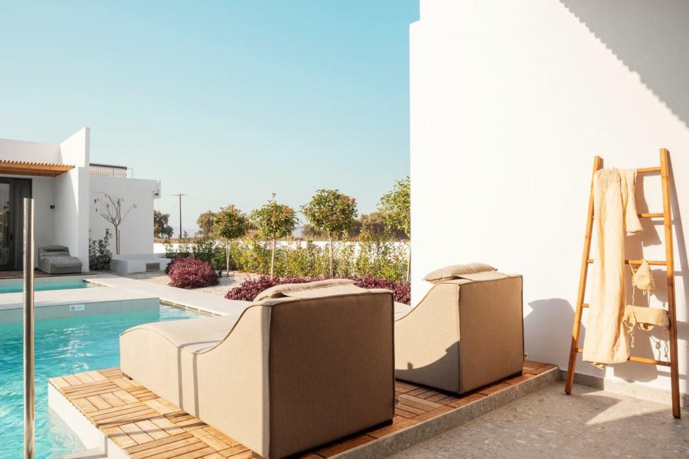 Classic Room 1 rom, terrasse med direkte utgang til privat, delt basseng