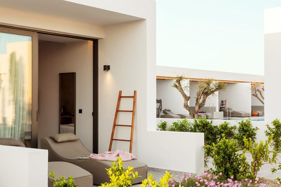 Classic Room 1 rom, terrasse mot omgivelsene