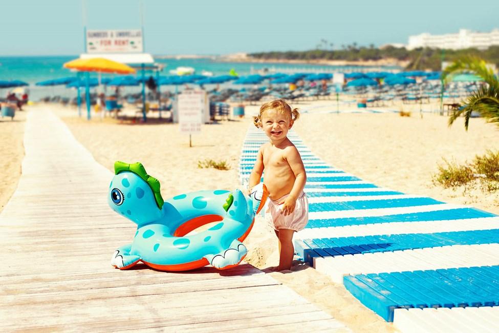 Sunwing Sandy Bay Beach ligger bare 100 meter fra stranden