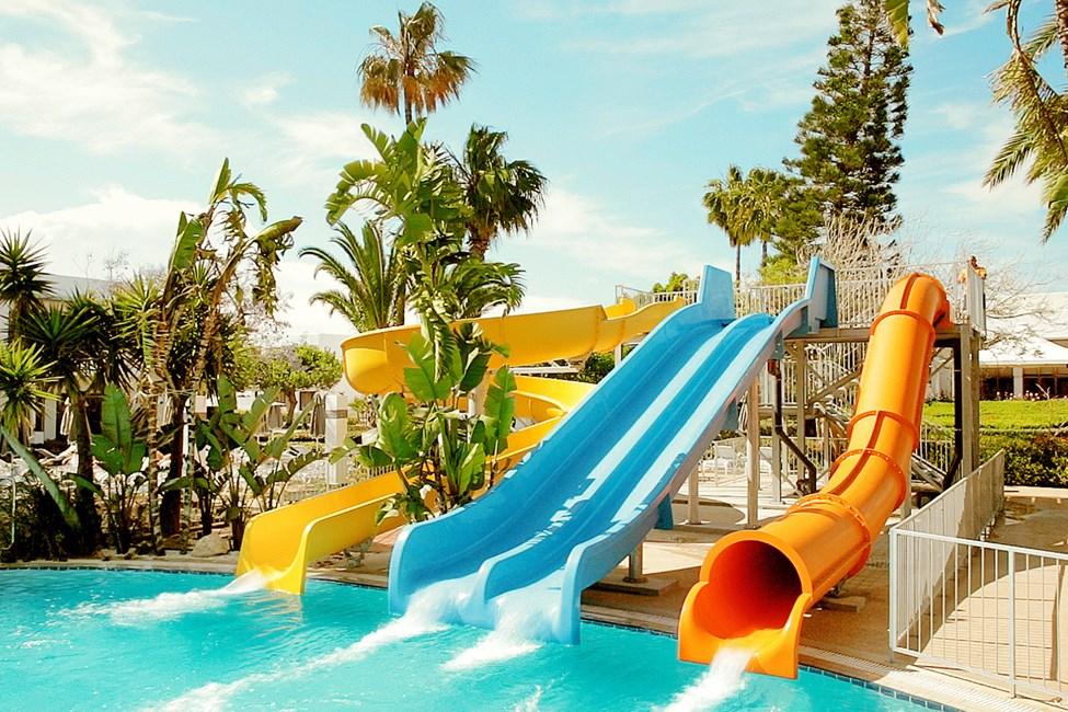 Vannsklier i Fun Pool