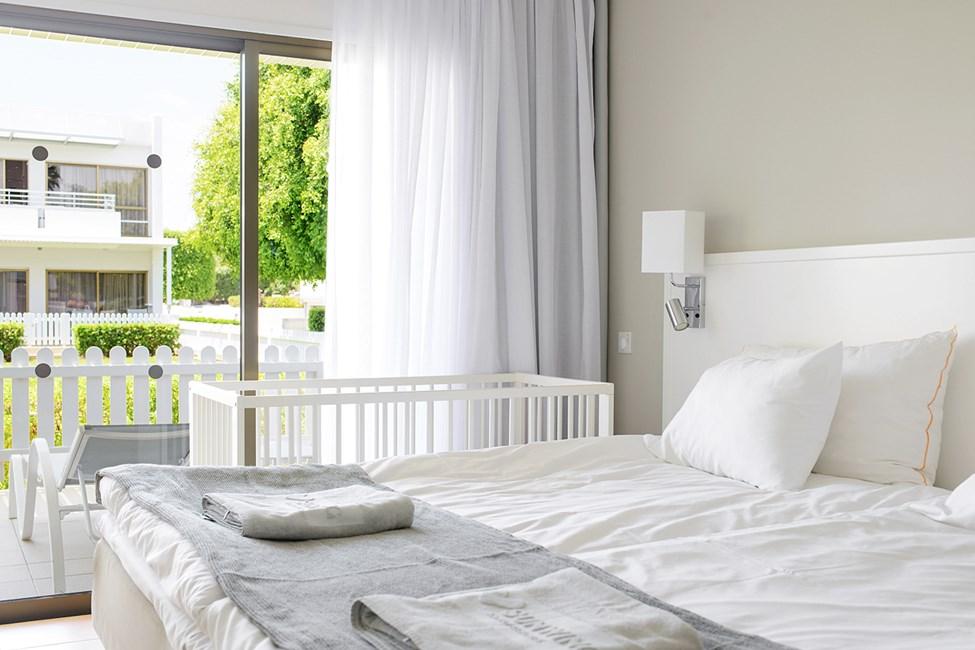 2-romsleilighet Happy Baby med inngjerdet terrasse