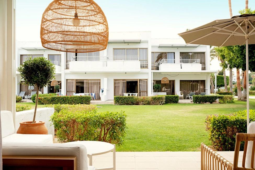 2-romsleilighet Royal Lounge Suite med terrasse mot hagen
