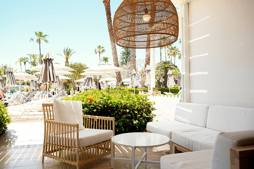2-romsleilighet Royal Lounge Suite med terrasse mot bassengområdet
