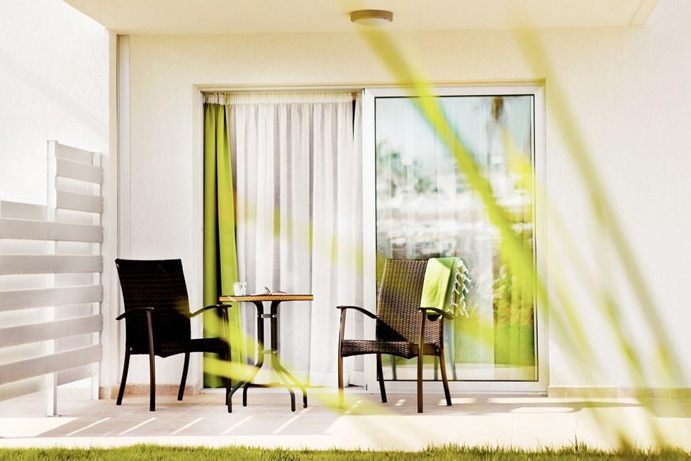 Classic Suite eller Junior Suite med terrasse mot hagen