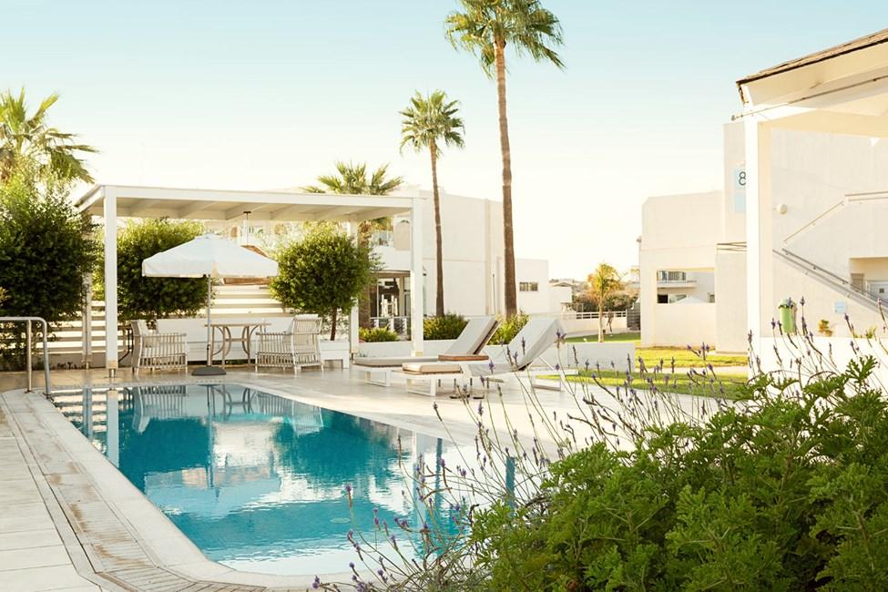 Prime Pool Suite 2 rom med terrasse og privat basseng