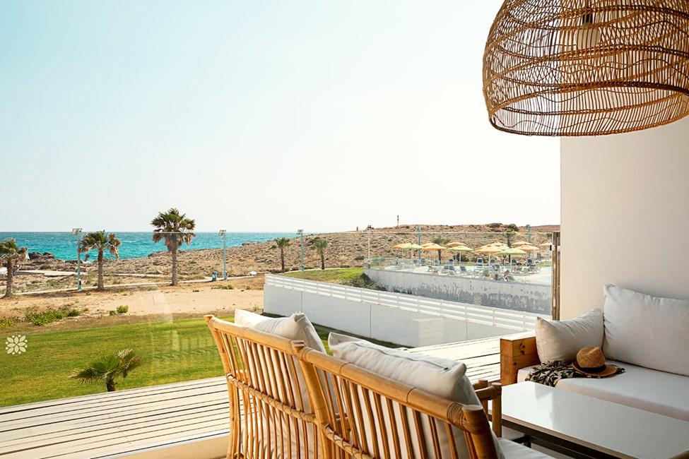 2-roms CLUB SUITE, balkong med havutsikt, nærmest havet