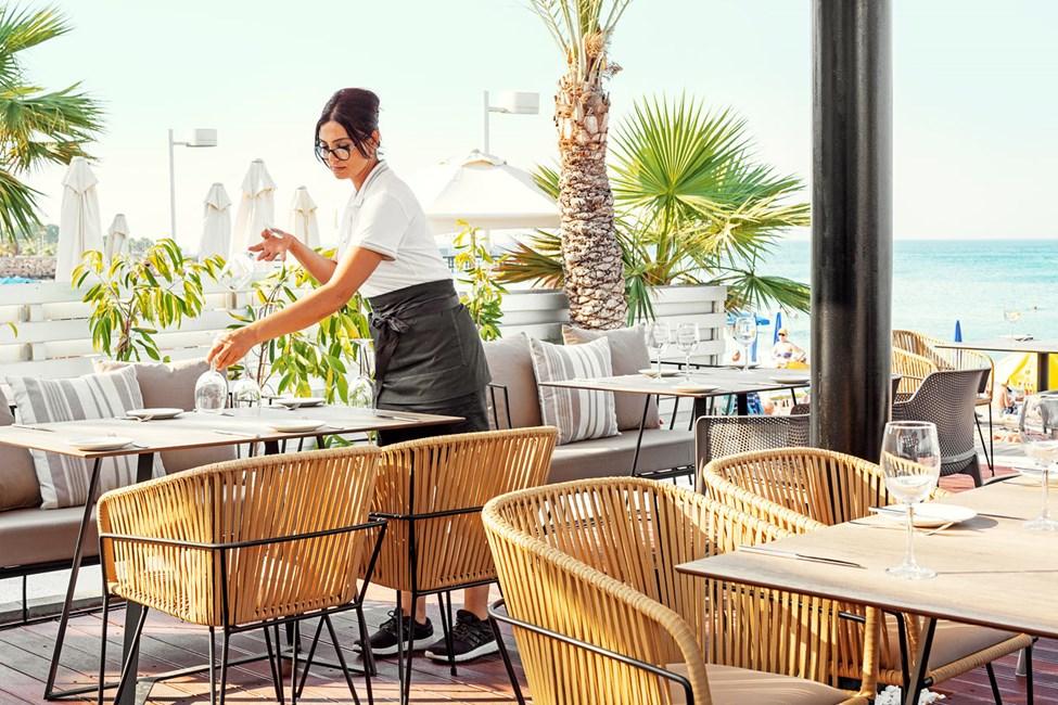 Hotellets hyggelige restaurant