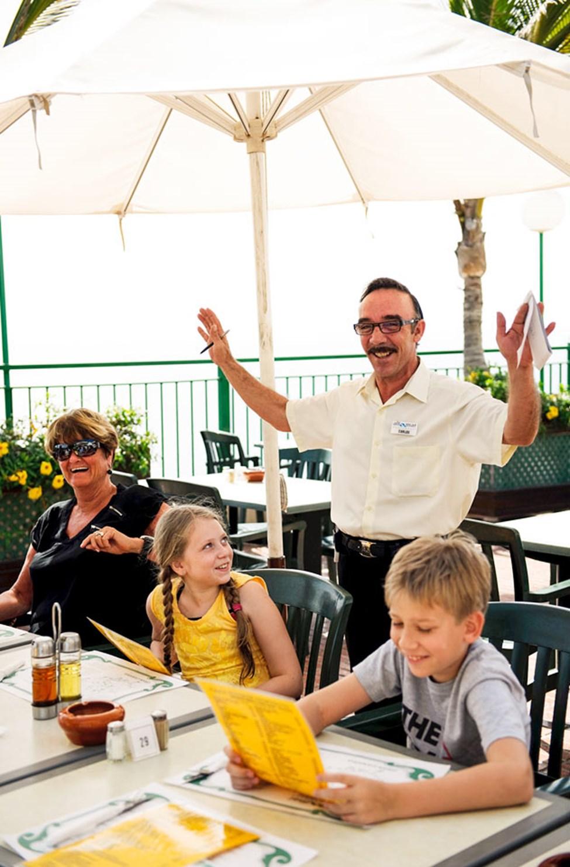 Carlos i restauranten