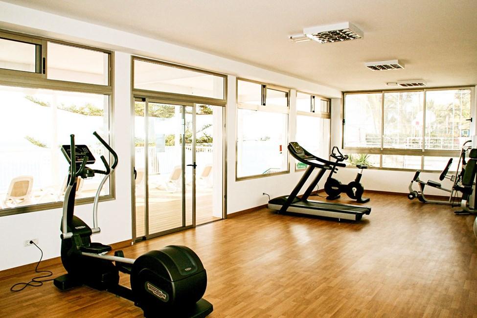 Hotellets fine treningsstudio