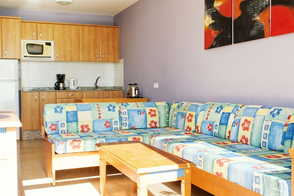 2-romsleilighet Club Room type C med beliggenhet i midten