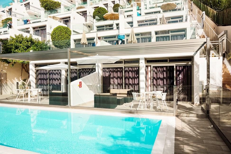 2-romsleilighet Club Room type D med direkte utgang til basseng