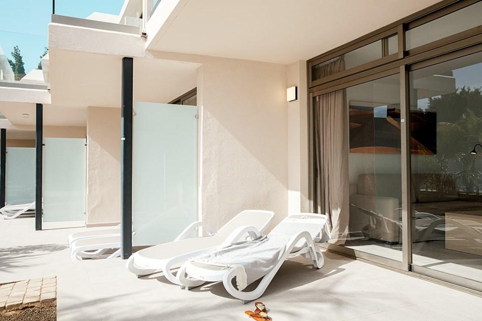 2-romsleilighet med terrasse