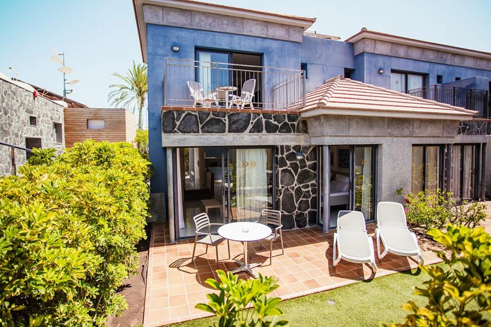 2-romsleilighet med privat hage