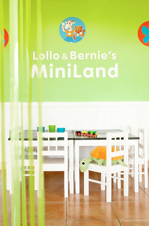 I Lollo & Bernies Mini Land kan barna leke, tegne og se på film