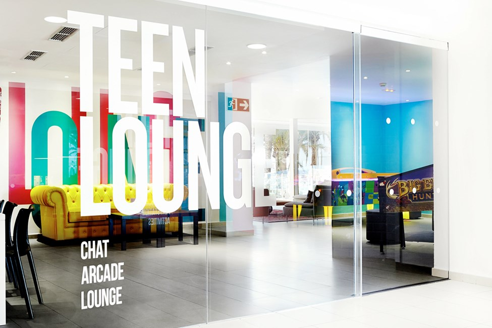 Teen Lounge er møtestedet for alle unge som trenger en pause fra foreldre og småbarn