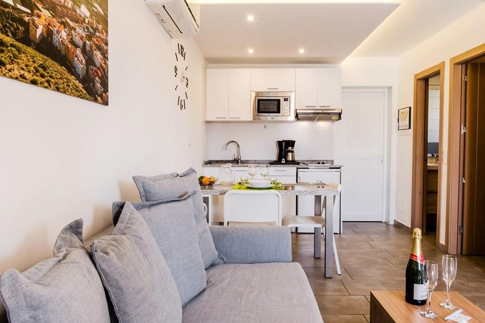 2-romsleilighet i bungalow