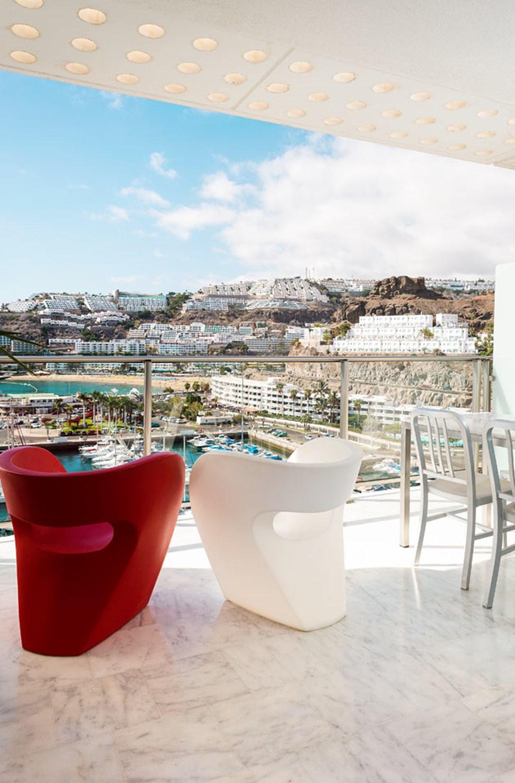 Eksempel på leilighet med utsikt mot marinaen