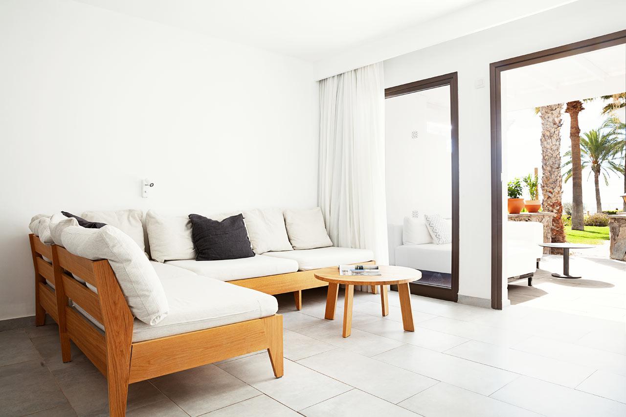 3-roms Generous Suite med med terrasse mot hagen