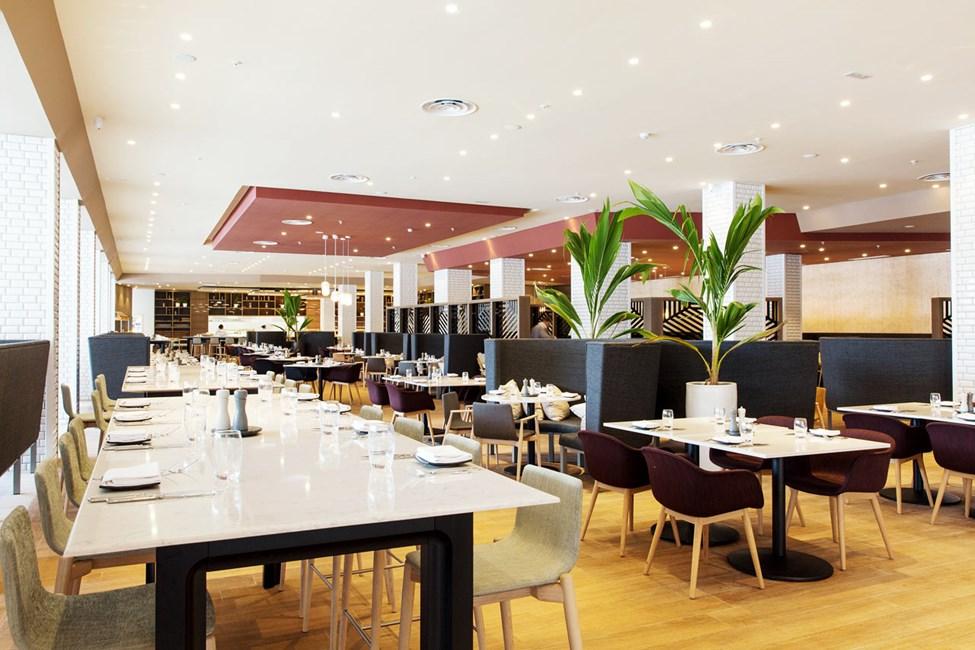 Hotellets bufférestaurant