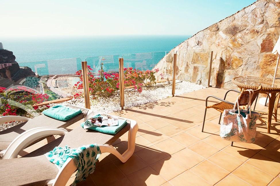 2-romsleilighet med balkong mot havet