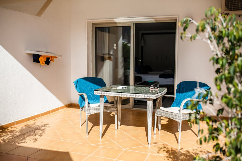 1-romsleilighet juniorsuite, terrasse på bakkeplan