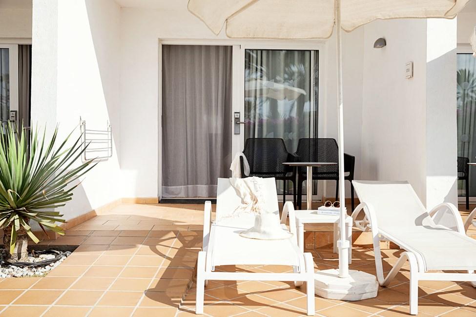 Classic Suite med terrasse mot hagen, tilpasset bevegelseshemmede
