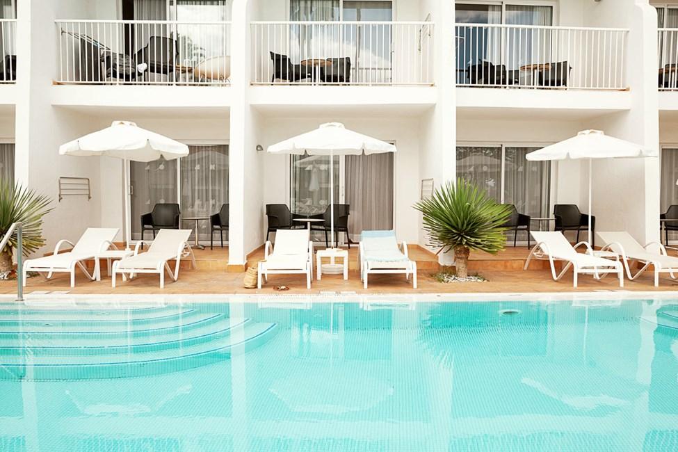 Prime Pool Suite med direkte utgang til basseng