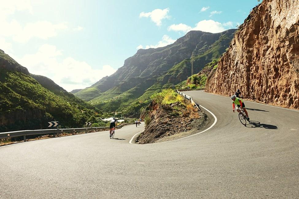 Du kan fint kombinere ferien med litt sykkeltrening