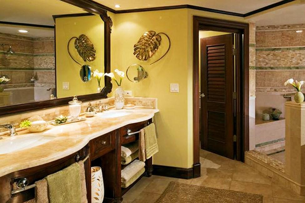 Dobbeltrom suite med felles basseng