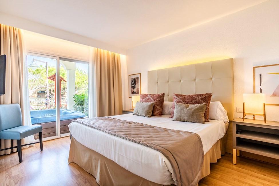 1-romsleilighet med stor terrasse